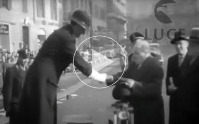 Befana ai Vigili del Traffico 10/01/1952 – Istituto Luce Cinecittà
