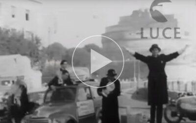 Befana dei Vigili a Roma Torino Napoli e Milano 1951 – Istituto Luce Cinecittà