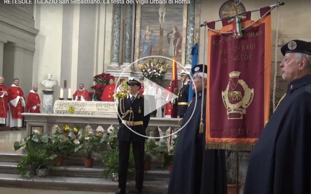 San Sebastiano. La festa dei Vigili Urbani di Roma – RETESOLE TGLAZIO